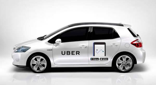 Авто компании Uber