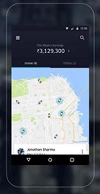 UberFLEET свои водители