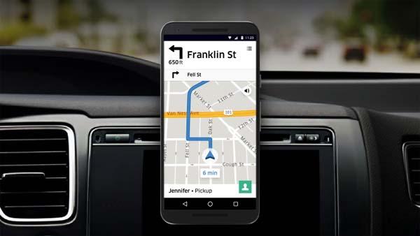 Приложение Убер для водителей
