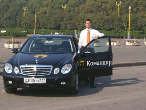 Водитель такси Командир