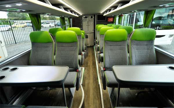 Автобус FlixBus внутри