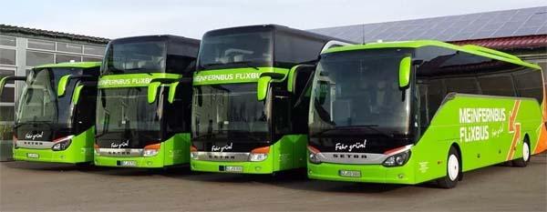Как выглядит автобус FlixBus