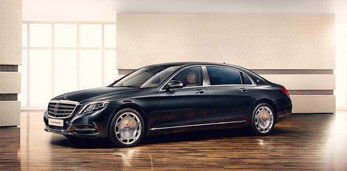 Mercedes S-class, Maybach