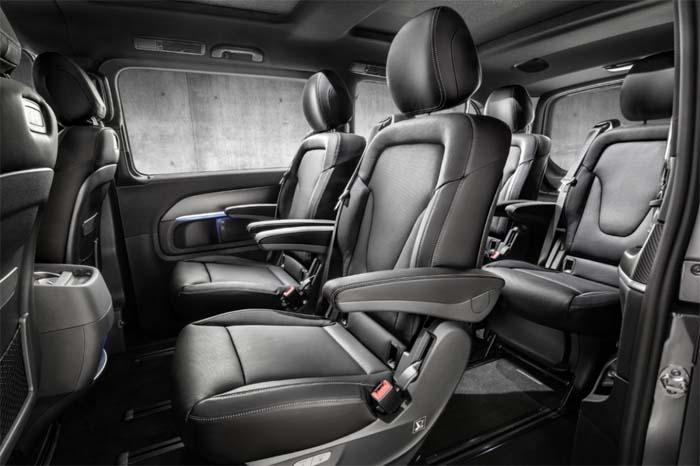 Салон автомобиля Mercedes V-Class